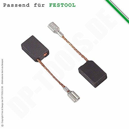 Kohlebürsten für Festool DX 93 E, DX93E, DX 93 E-Plus, DX93E-Plus