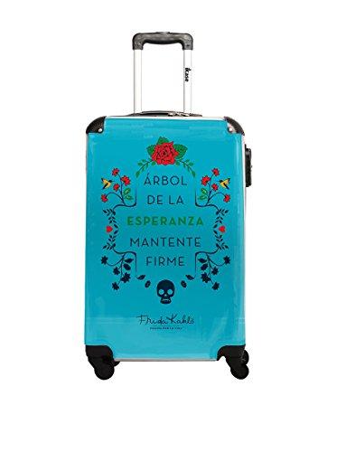 Frida Kahlo Trolley rígido LIC Azul 60 cm