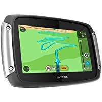 TomTom Rider 400 Satellite Navigation System with Lifetime European Maps,Traffic and Speed Camera Update