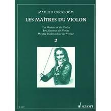 CRICKBOOM - Los Maestros del Violin 2º para Violin y Piano
