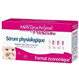 Mercurochrome Pichoune - Sérums physiologiques - 40x5ml