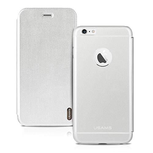 Silverback Hülle Für Apple iPhone 6 Plus / 6S Plus - Handyhülle Aus Metall - Hard Case Flip Cover Stoßfeste Schutzhülle Tasche - TPU Handy Case Bumper Aluminium Backcover - Silber Silverback Hard Case Cover
