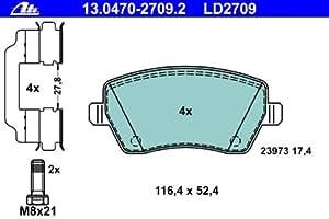 ATE 13.0470-2709.2 Kit de plaquettes de frein, frein à disque