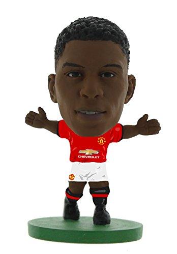 SoccerStarz SOC1095 Man Utd Marcus Rashford 2018 Version Home Kit Figures
