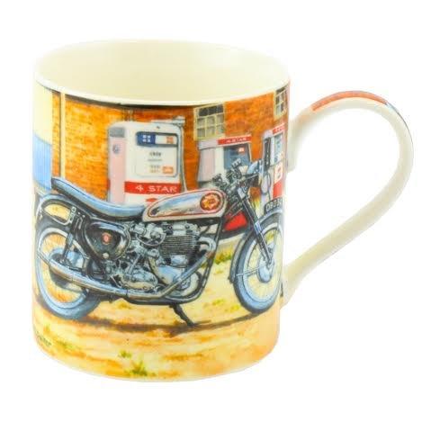 GD Publishing BSA Gold Star Fine Art Acuarela China Regalo Taza Moto