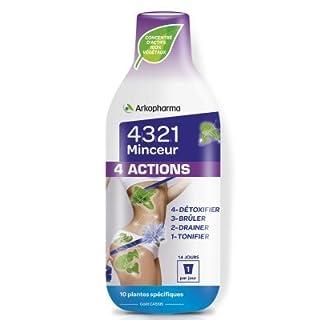 Arkopharma 4321 Minceur 4 Actions 280ml