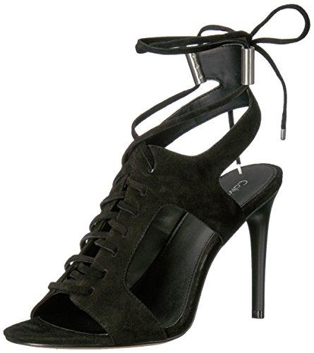Calvin Klein Damen Sandalen, schwarz, 39 EU -