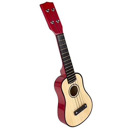 ColorBaby - Guitarra de madera, 4 cuerdas (42142)
