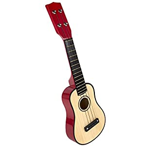 Play & Learn - Guitarra de madera (ColorBaby 42142)