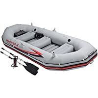 Intex Barca hinchable mariner 4 & remos 137 cm-328x145x48 cm - 68376NP