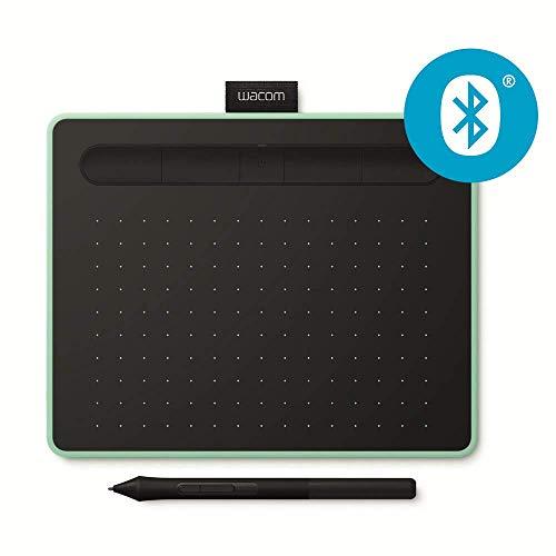 """Wacom S Bluetooth, Intuos. Tecnología de conectividad: Inalámbrico y alámbrico, Resolución: 2540 líneas por pulgada, Área de trabajo: 152 x 95 mm. Precisión del bolígrafo: 0,25 mm, Tasa de reporte (pluma): 133 pps. Diagonal: 17,8 cm (7""""). Color del p..."""