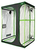 VITA5 Growbox 2-in-1 | Growzelt Zuchtschrank für Pflanzenzucht zuhause | Lichtdicht Reißfestes Tuch | wasserdichte Grow Box (150x120x200)