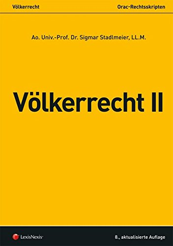 Völkerrecht II (Skripten)