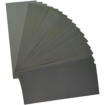12 feuilles les loisirs et lamelioration de lhabitat TOOGOO Abrasif Sec Humide Impermeable Feuilles de papier abrasif assorties grain de 400//600//800//1000//1200//1500 pour lameublement