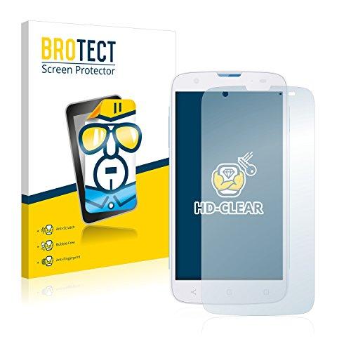 BROTECT Schutzfolie kompatibel mit MobiWire Taima [2er Pack] klare Bildschirmschutz-Folie
