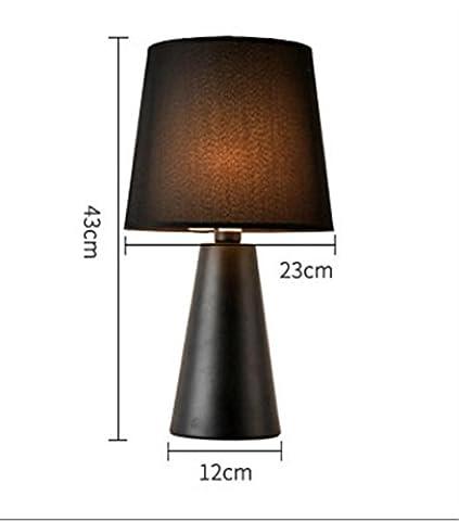 Noël moderne mode minimaliste créatif lampe de table classique, bureau, chambre, chevet de nuit décor de bureau lumière, Festival de la lumière de décoration , black