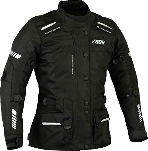 Motorrad Damen Wasserdicht Jacke mit Protektoren Sommer Winter Textil Frauen (XXL, Alexander)