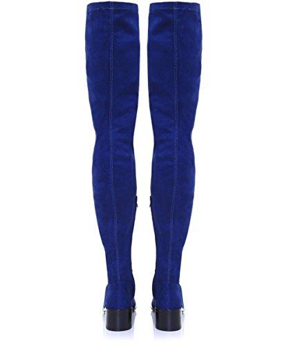 Inuovo Da Donna High Rebecca Thigh Boots Blu Marino Blu marino