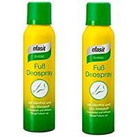 efasit CLASSIC Fuß Deo Spray mit Menthol und 24h Wirkstoff 2er Pack(2x150ml) preisvergleich bei billige-tabletten.eu
