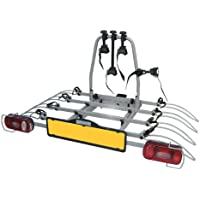 Nimbus 91536 Barra de remolque con soporte para 4 bicicletas, reclinable