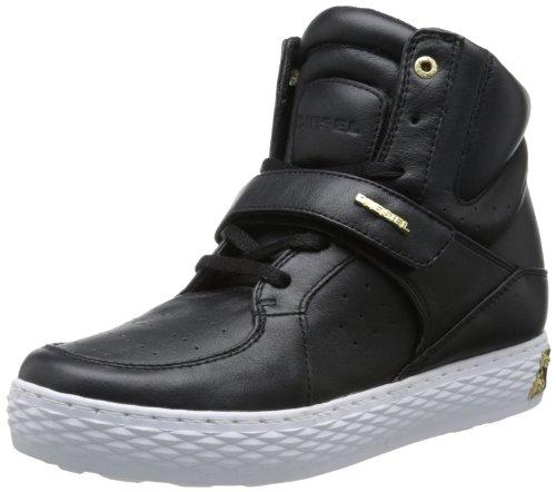Diesel Sneaker Platform Scarpe da Donna Belair D-Prince W Nero