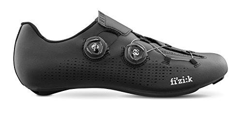 Fizik R1infinito scarpe, unisex, R1INFIN18-1010-43, Nero, 43