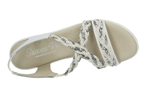 MADE IN SPAIN , Tongs pour femme Blanc