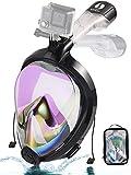 NEOpine Snorkeling Mask 180¡ã Panoramic Snorkel Mask Snorkel Scuba Diving Mask Full Face