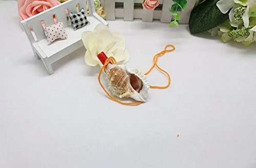 efbock Sea Shells Collier Snail Conch Pendentif Sifflet Naturel Best Fancy Toy Cadeau Enfants