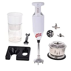 First choice 200 Watts White Blender With Attachment