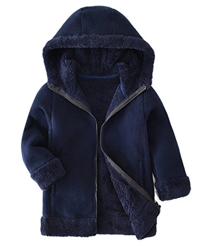 Dalary Winter Zipper Baby Boys Girls Outerwear Christmas Jacket