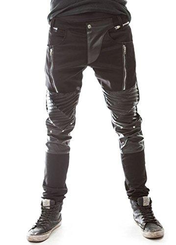Vixxsin -  Pantaloni  - Uomo Black X-Large