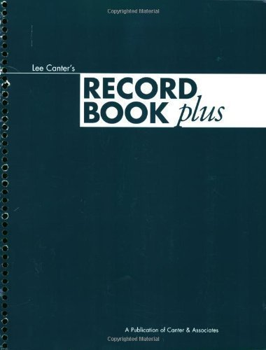 Record Book Plus by Lee Canter published by Solution Tree (2003) Spiral-bound