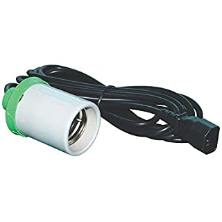 CFL HPS MH Lamp Holder Grow Light Bulb E40 Fitting 4m Cord Hydroponics LUMii