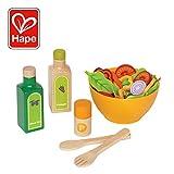 Hape - E3116 - Jeu d'Imitation en Bois - Cuisine - Salade du Potager