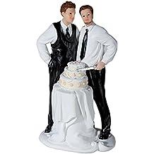 Figura de Novios Gay Tarta
