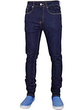 Pantalones de pantalones ajustados de dril de algodón de pantalones vaqueros