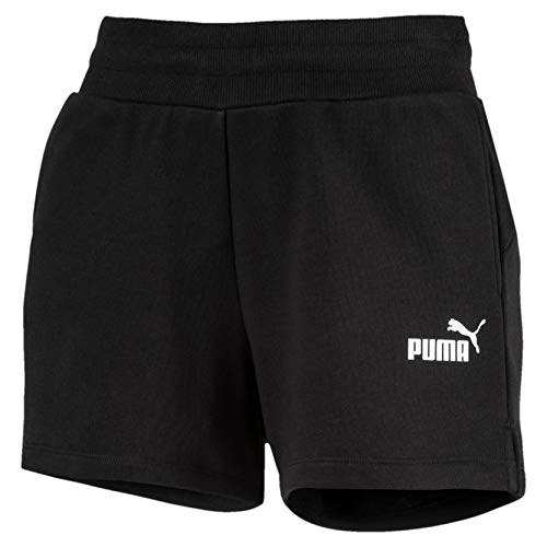 PUMA Damen ESS Sweat Shorts TR Hose, Cotton Black, XL