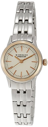 Giordano Analog White Dial Women's Watch - P226-44 image