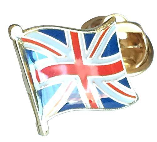 Emblems-Gifts Kleines Union Jack Anstecknadel, der für Ihre Jacke oder Mantel -