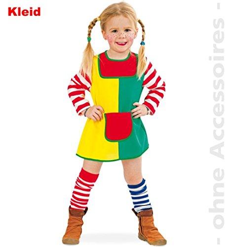 Karlinchen Kleid 1tlg. Baby Kleinkind Fasching Kinder - Kostüm Babykostüm Kinderkostüm Gr ()