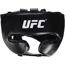 UFC Kopfschutz MMA Headguard - Casco de artes marciales, color negro, talla XL