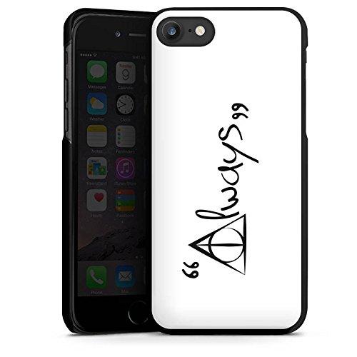 Apple iPhone 8 Hülle Case Handyhülle Always Harry Potter Statement Hard Case schwarz
