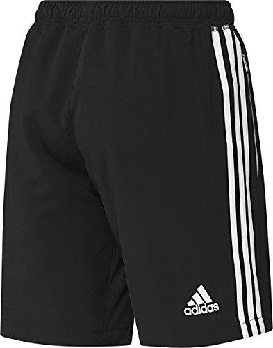 Adidas–Pantaloncini da uomo T16CC nero / bianco