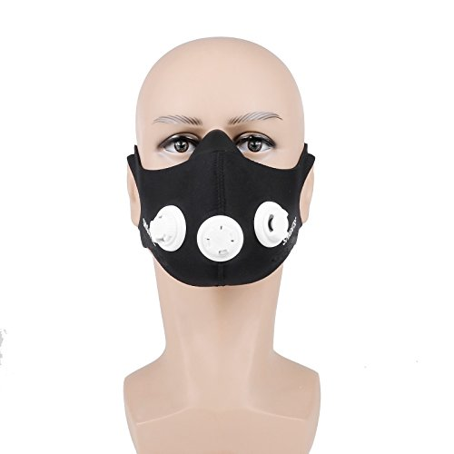 Sports Mask,TopCrazy Sport Atemmaske Fitness Masken Fr Elevation Sports Mask Training Hhentraining M