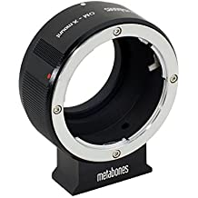 Metabones MB_OM-X-BM1 cable para cámara fotográfica, adaptador - Adaptador para objetivo fotográfico (Negro)