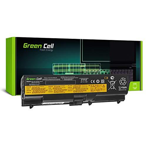 Green Cell® Standard Série 42T4795 Batterie pour Lenovo ThinkPad T410 T410i T420 T420i T510 T510i T520 T520i W510 W520 Ordinateur PC Portable (6 Cellules 4400mAh 10.8V Noir)