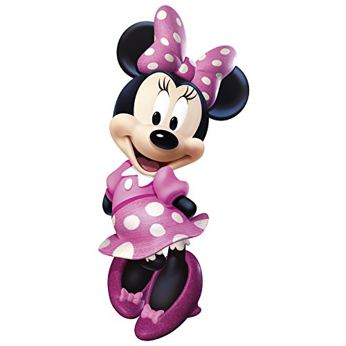 Image of RoomMates Minnie Mouse Bowtique Giant Repositionable Disney Wall Stickers