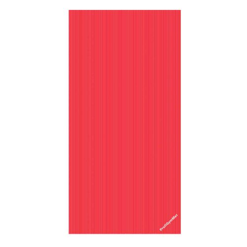 Trendy Sport RehaMat, Trainings- und Gruppentherapiematte, 200 x 100 x 2,5 cm, rot
