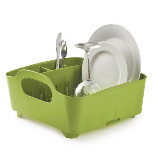 Umbra - Escurridor de platos y vasos, color verde
